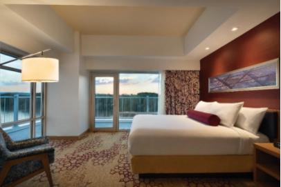 Hotel photography symmetry