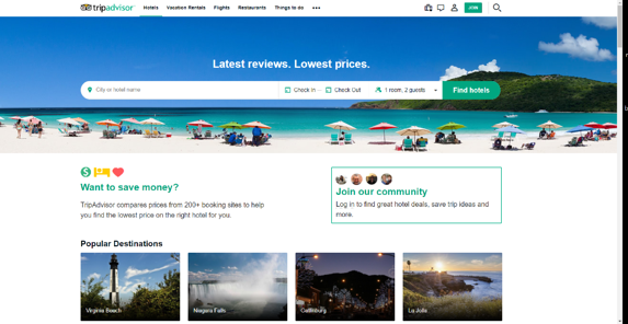 Online Hotel Reviews