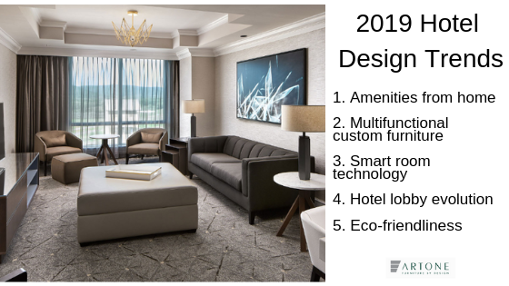 Looking Ahead to 2019 Hotel Design