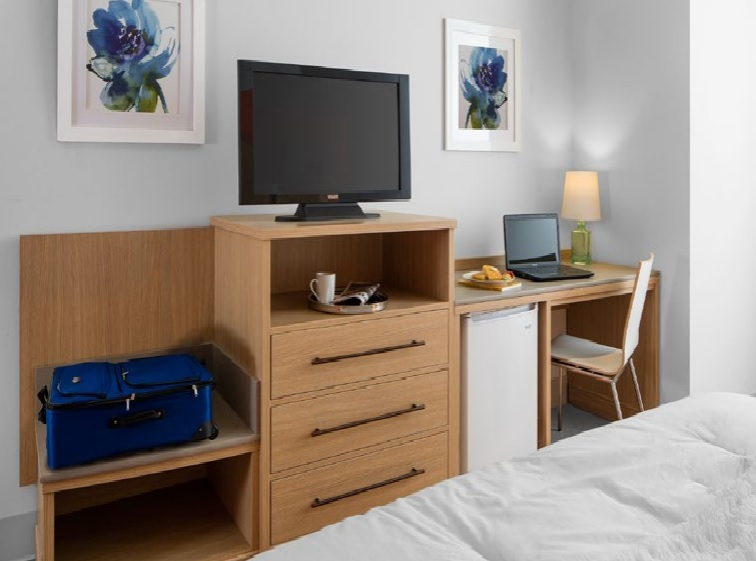 3 Hotel Room Designs With Contemporary Commercial Furniture