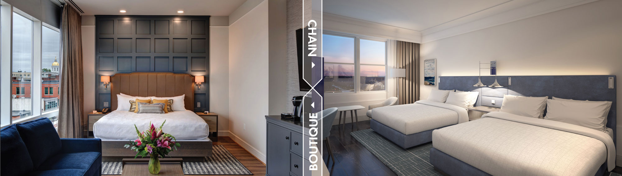 Boutique Hotels vs. Chain Hotels: Managing Renovation Costs