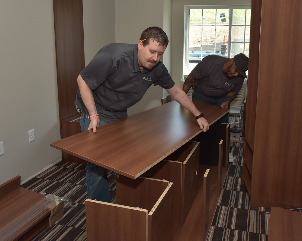 Furniture Installation Services: The Final Steps to Your Hotel Design Project